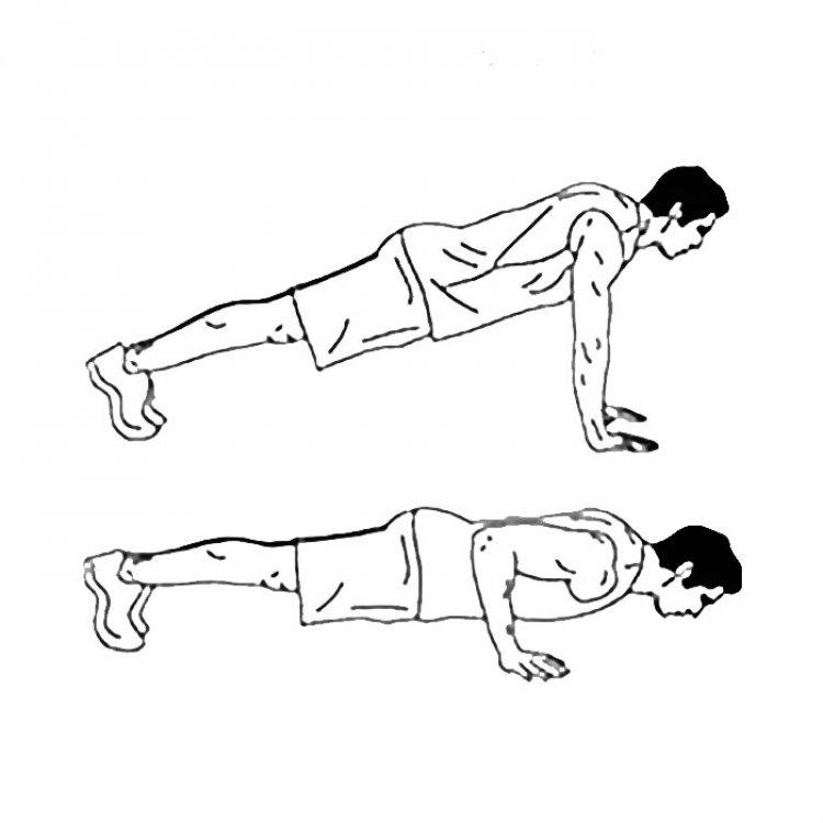 Classic push-ups