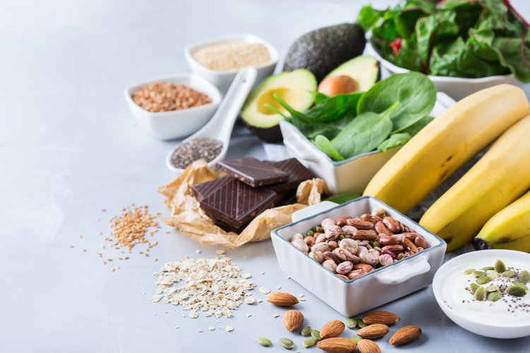 Magnesium in food - products