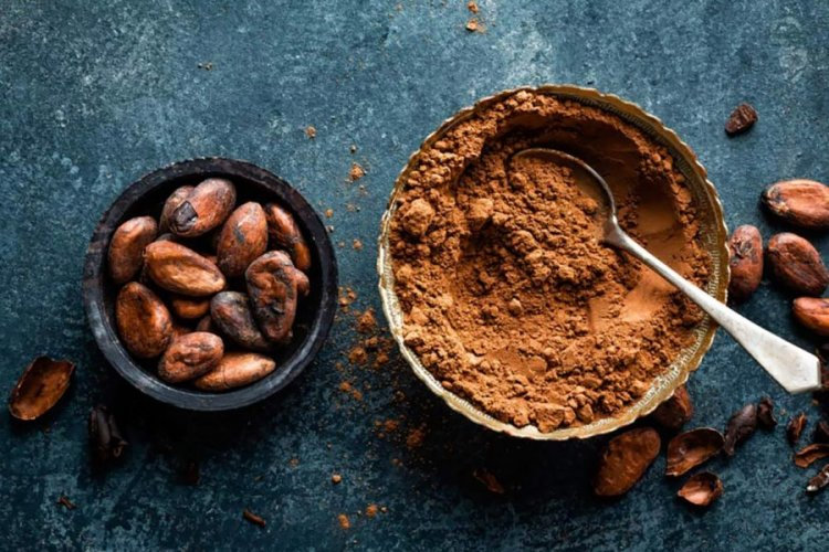 Cocoa beans (and chocolate)