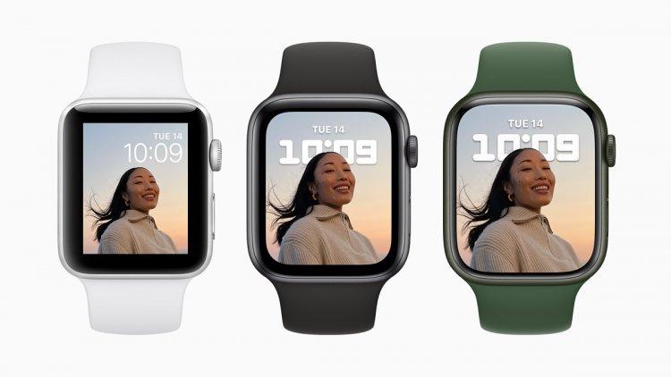 Apple Watch Series 7 дисплей
