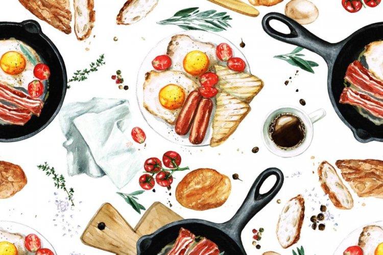 Калорична закуска с правилно хранене