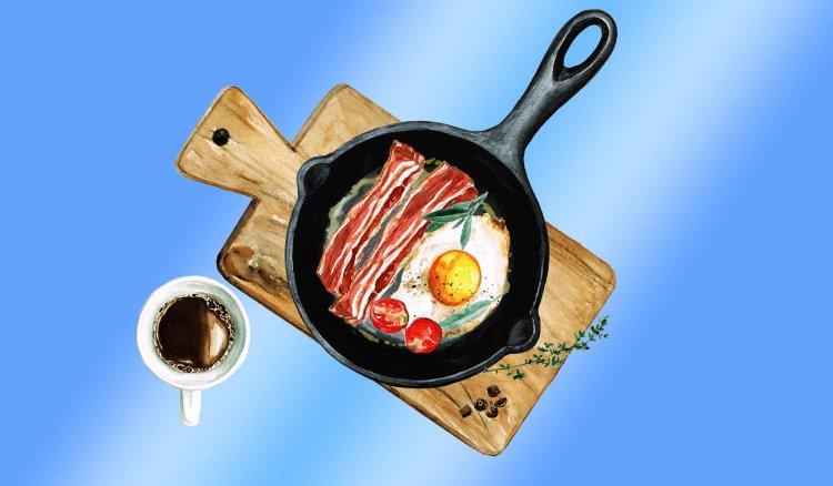 Колко калории трябва да съдържа закуската? Специфично тегло на съдържанието на калории с PP