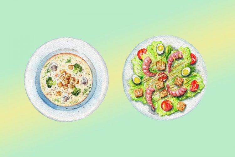 Вечеря и правилно хранене